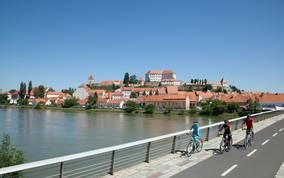 <p>Drauradweg Slowenien</p>
